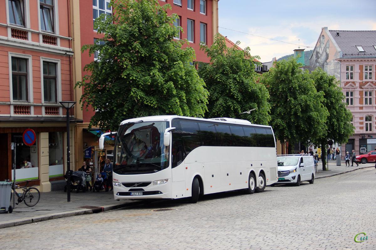 Берген. Volvo 9700H UG LAJ 610