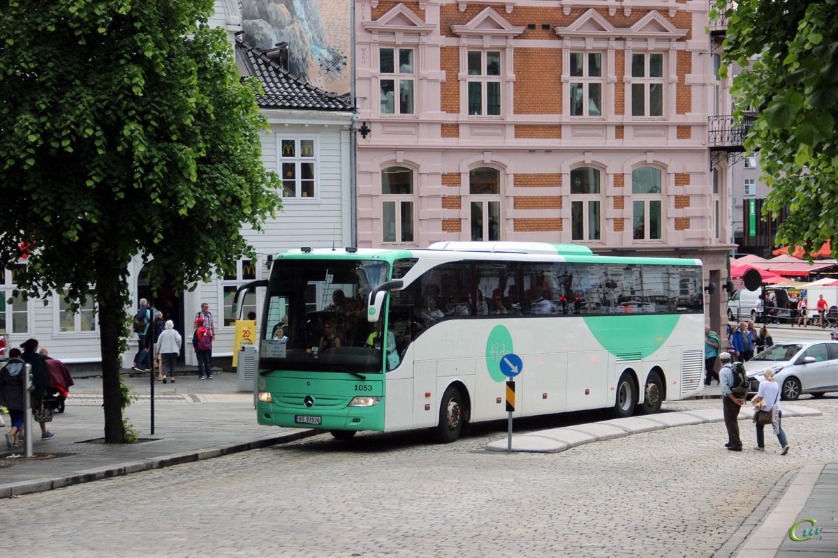 Берген. Mercedes-Benz Tourismo HS 97576
