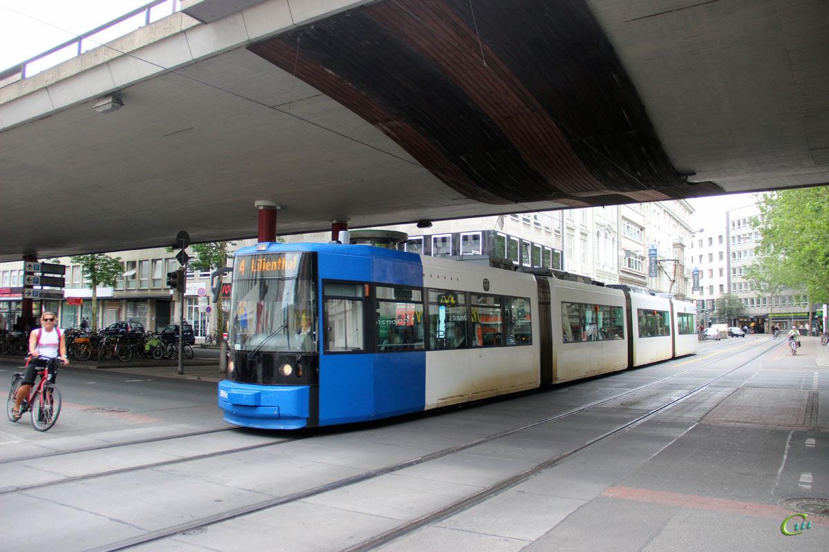 Бремен. Adtranz GT8N №3056