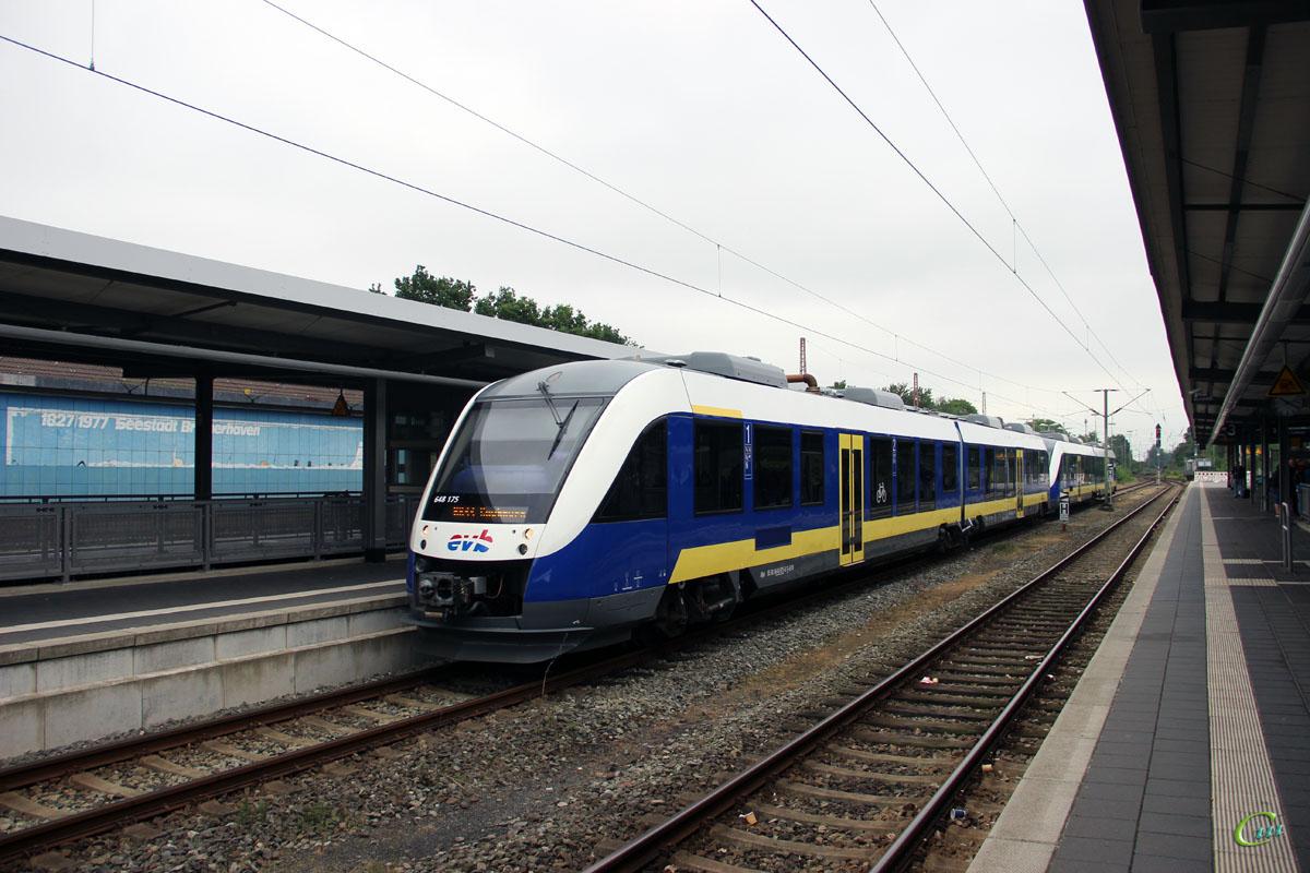 Бремерхафен. Alstom Coradia LINT 41 № 648 175