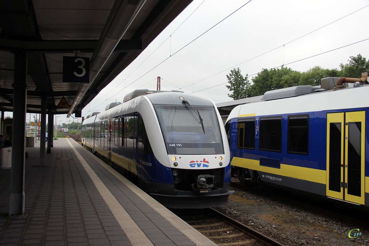 Бремерхафен. Alstom Coradia LINT 41 № 648 195