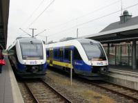 Бремерхафен. Alstom Coradia LINT 41 № 648 175, Alstom Coradia LINT 41 № 648 197