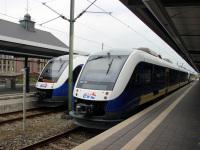 Бремерхафен. Alstom Coradia LINT 41 № 648 195, Alstom Coradia LINT 41 № 648 199