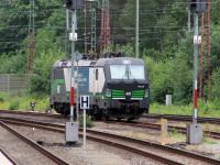 Бремерхафен. Siemens Vectron AC № 193 238