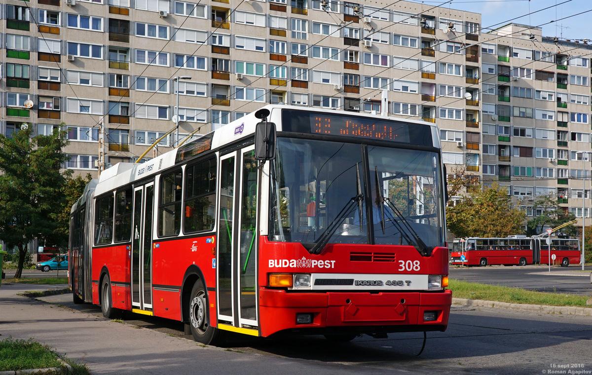 Будапешт. Ikarus 435.81 №308