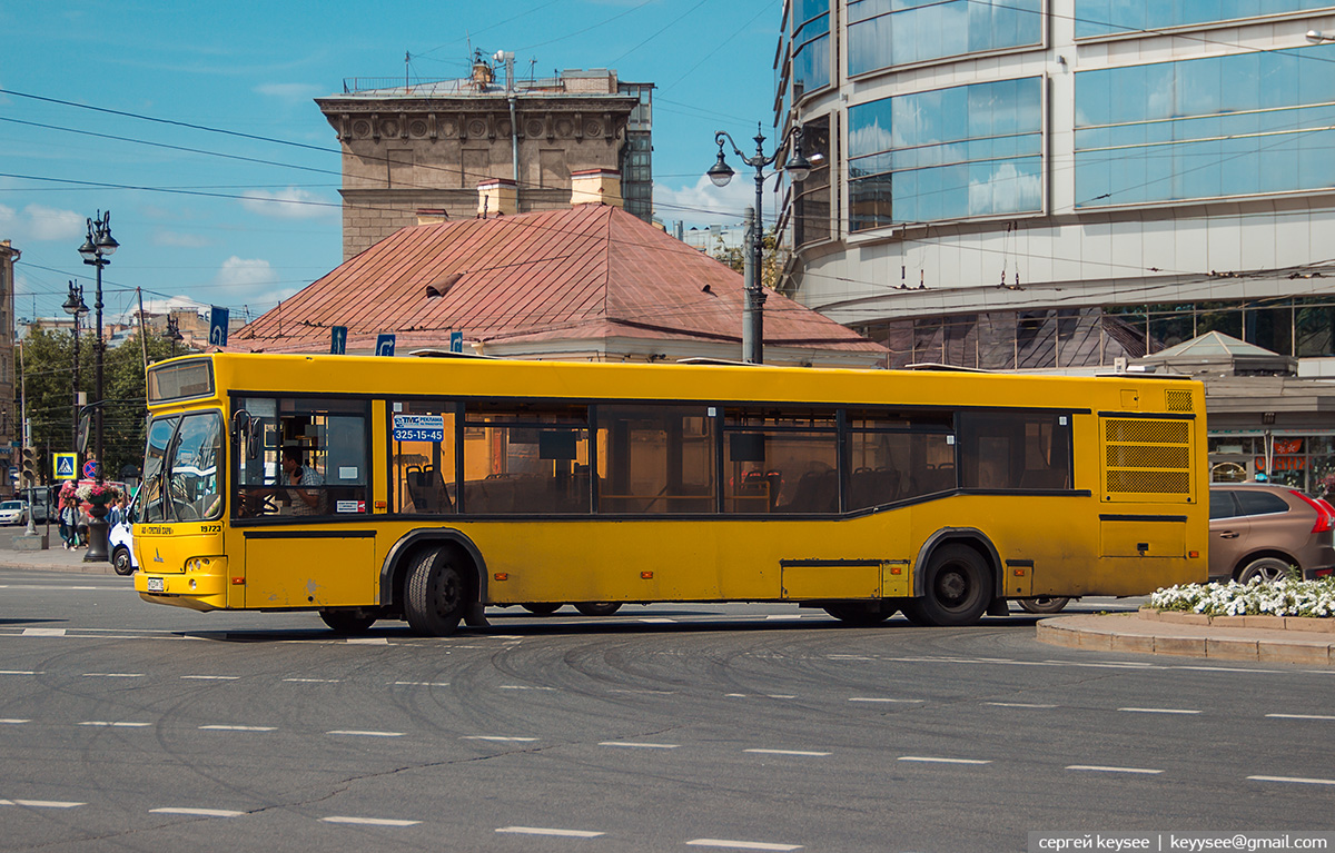 Санкт-Петербург. МАЗ-103.485 в723рр