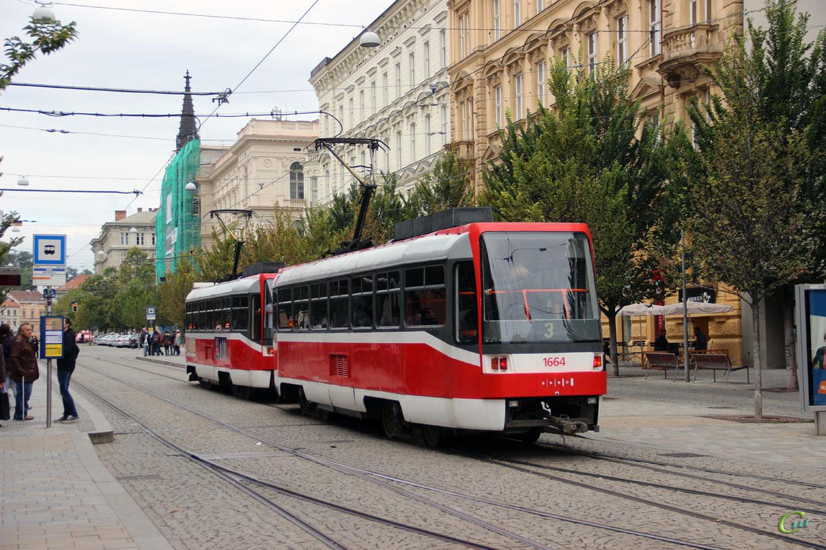 Брно. Tatra T3R №1663, Tatra T3R №1664