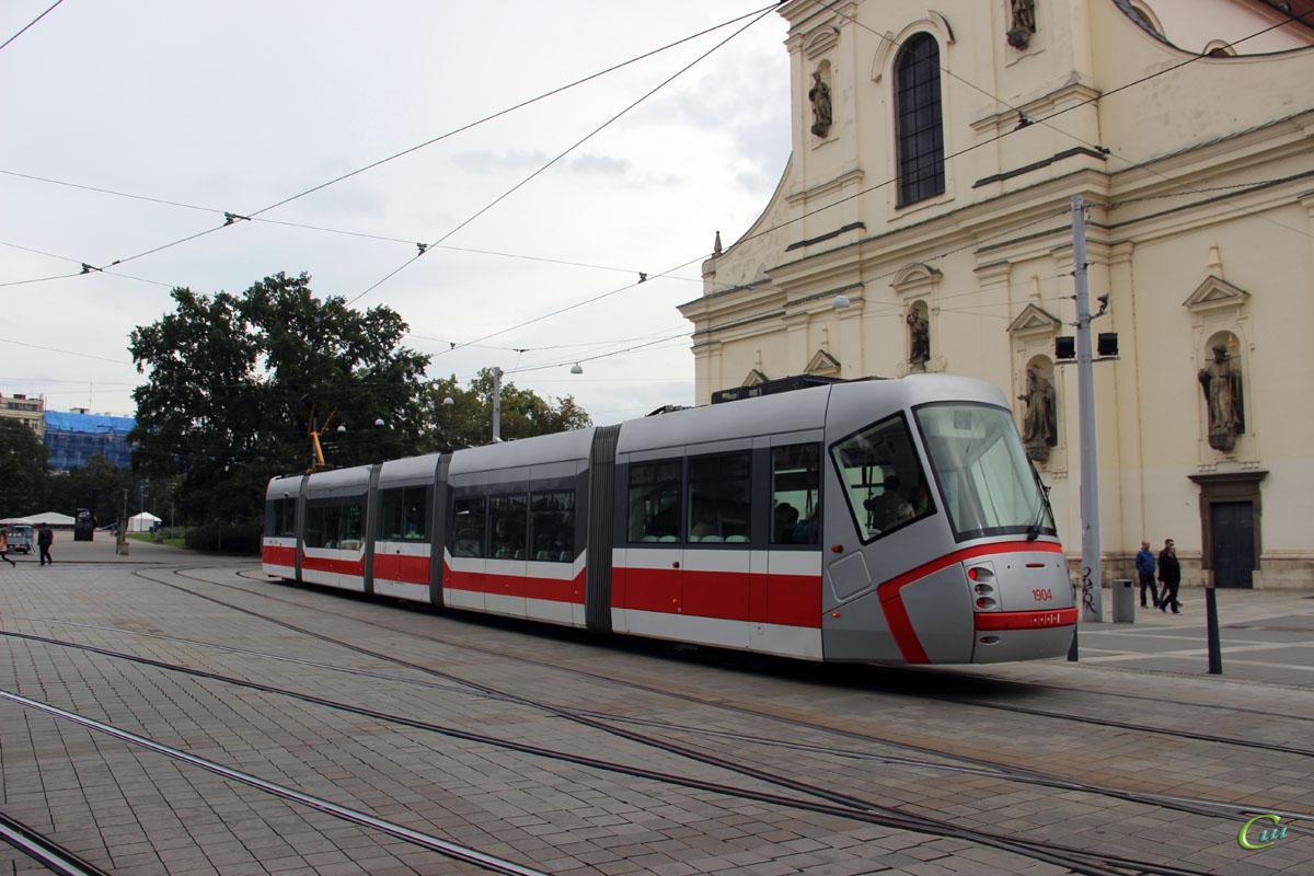 Брно. Škoda 13T №1904
