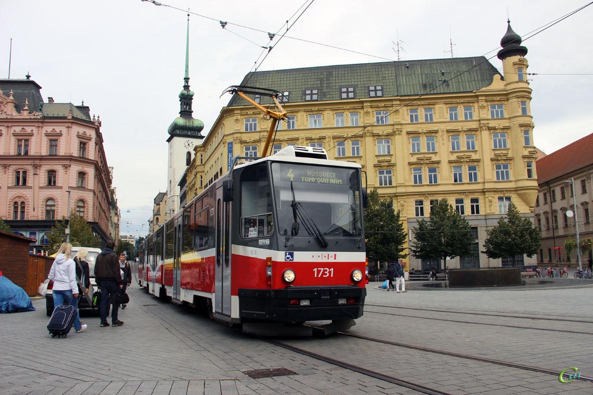 Брно. Tatra KT8D5 №1731