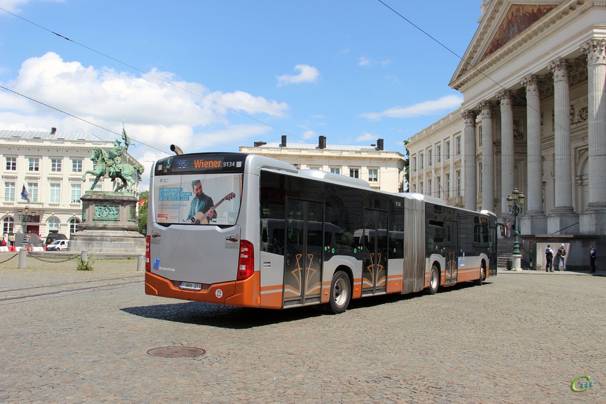 Брюссель. Mercedes-Benz O530 Citaro G 1-HPK-311