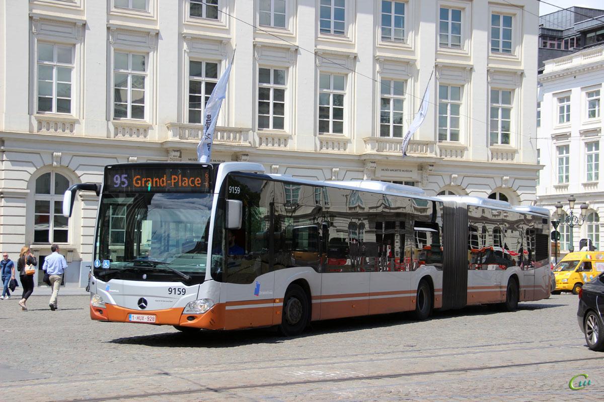 Брюссель. Mercedes-Benz O530 Citaro G 1-HUX-928