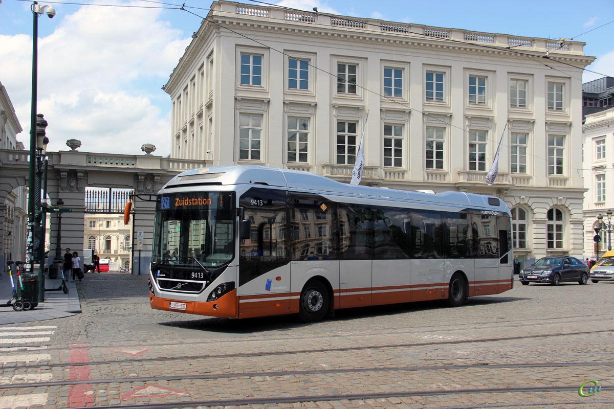 Брюссель. Volvo 7900 Hybrid 1-VFE-637