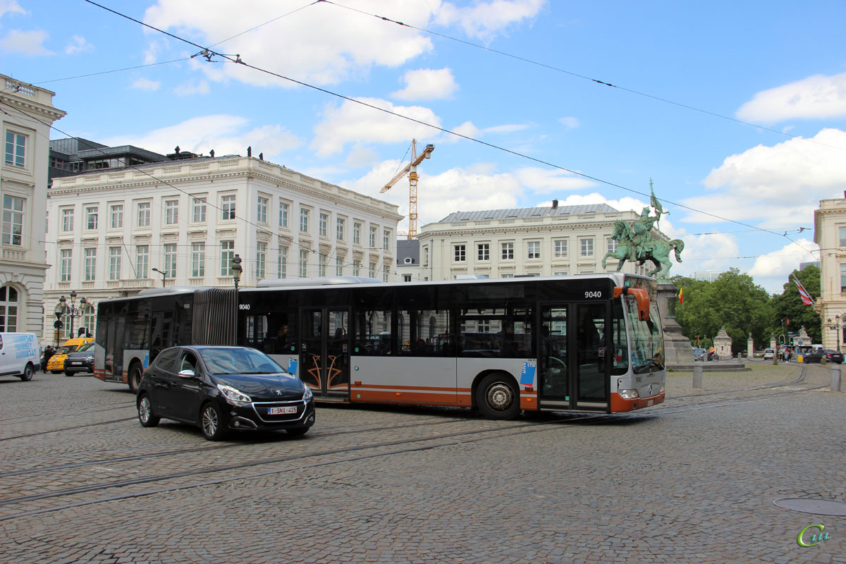 Брюссель. Mercedes-Benz O530 Citaro G YWA-641