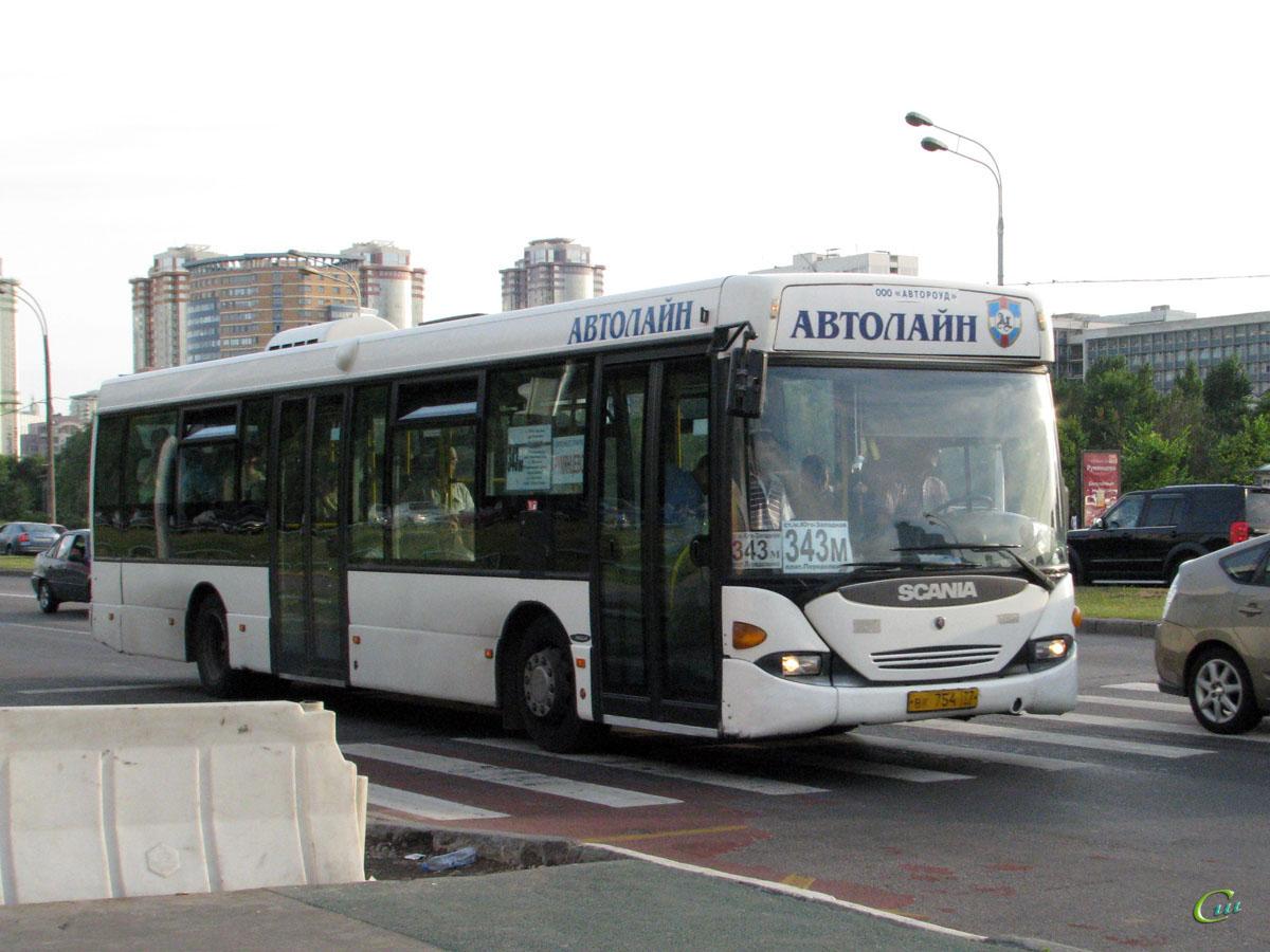 Москва. Scania OmniLink CL94UB вк754