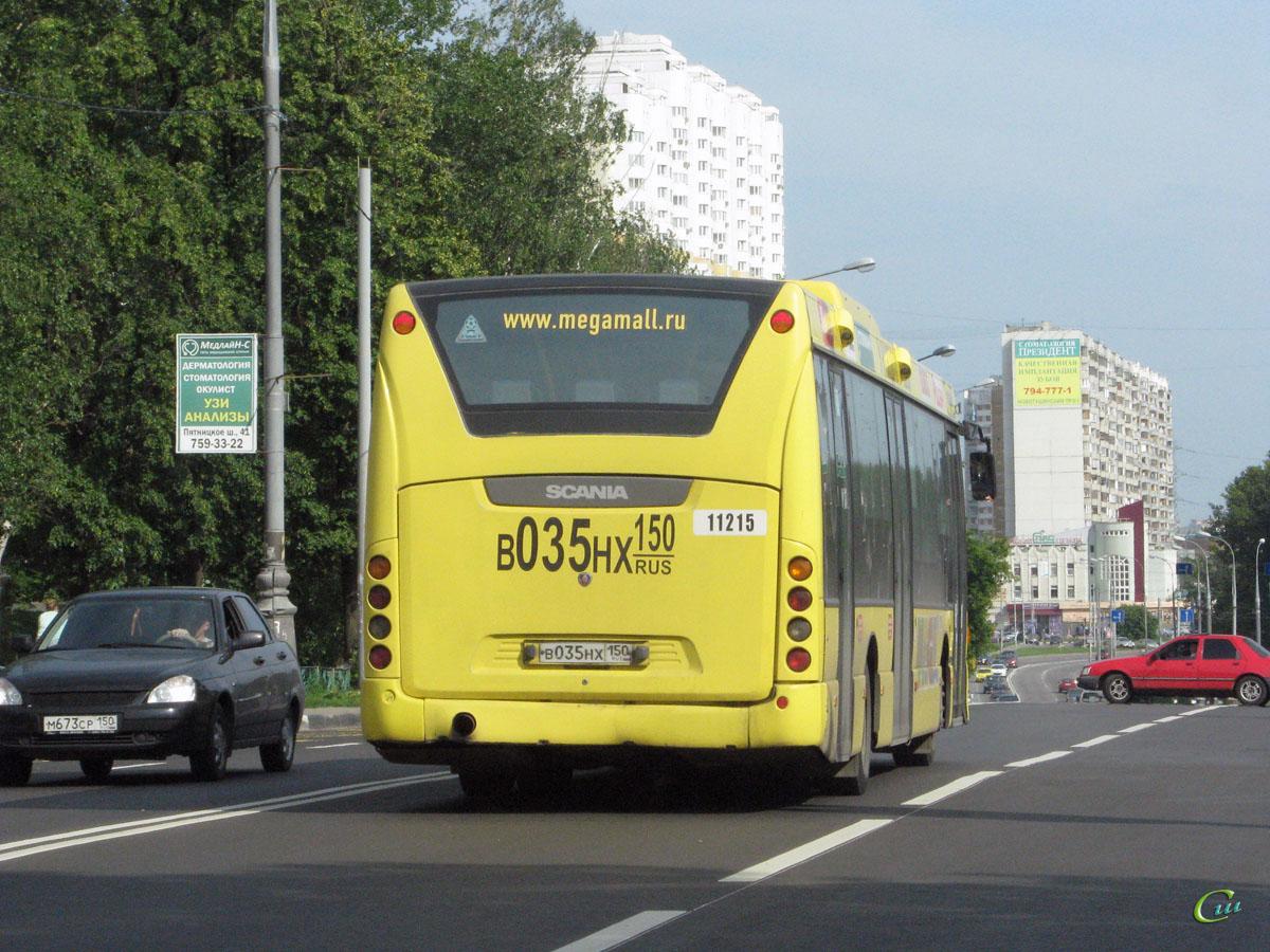 Москва. Scania OmniLink CK95UB в035нх