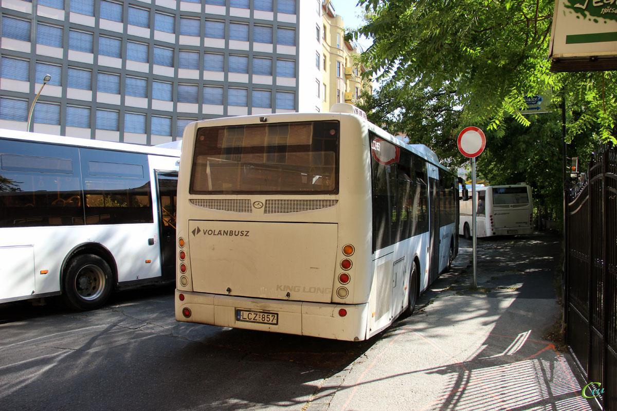 Будапешт. King Long XMQ6121G LCZ-857