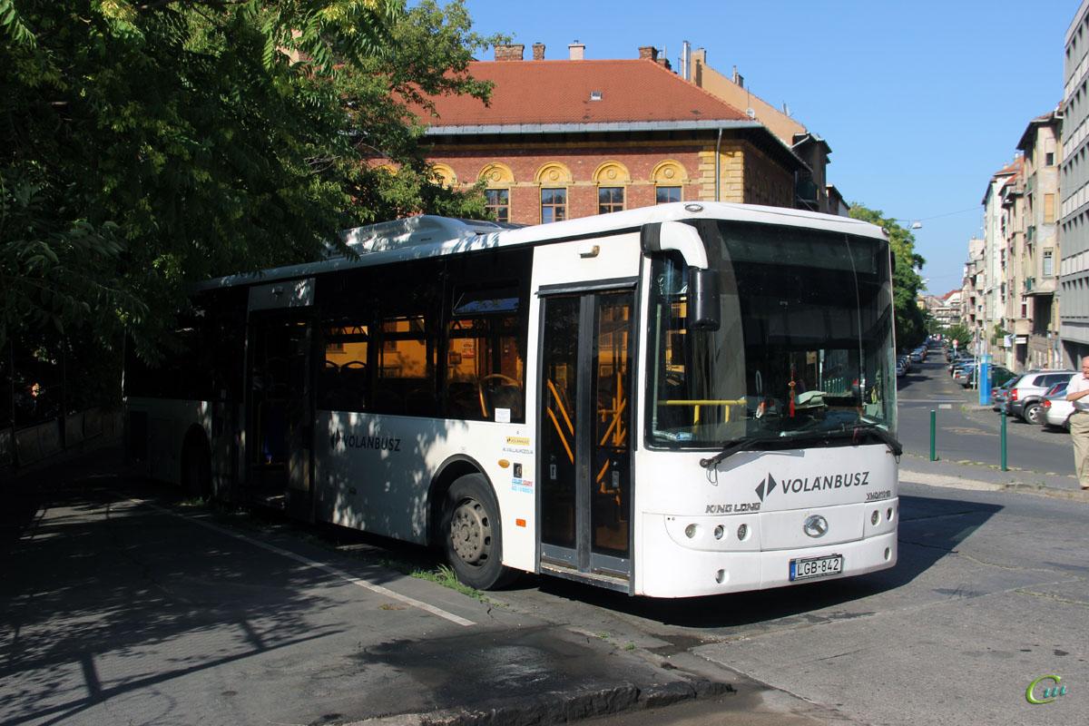 Будапешт. King Long XMQ6121G LGB-842