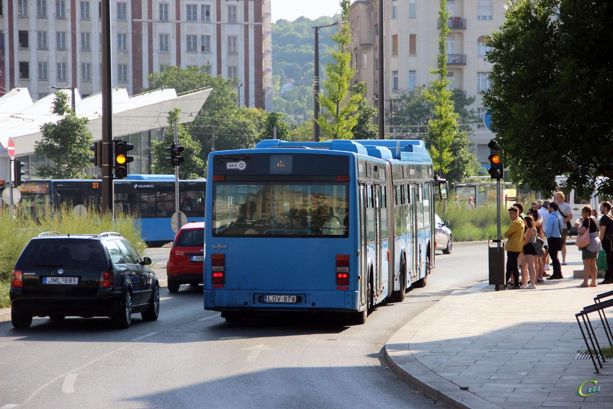 Будапешт. Van Hool AG300 LOV-879