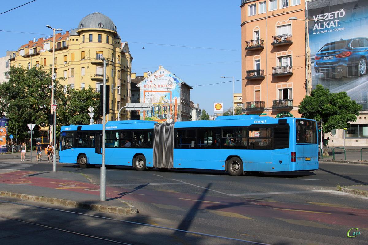 Будапешт. Volvo 7700A FKU-913