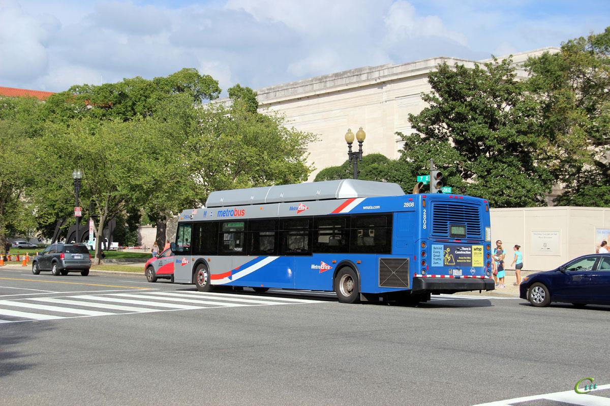 Вашингтон. New Flyer C40LFR B 43263