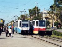Ангарск. РВЗ-6М2 №038, 71-608К (КТМ-8) №173, 71-608К (КТМ-8) №175