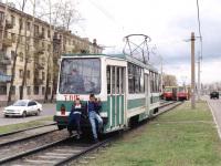 Ангарск. 71-132 (ЛМ-93) №015, 71-605 (КТМ-5) №119, 71-605 (КТМ-5) №139