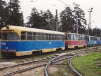 Ангарск. 71-132 (ЛМ-93) №009, РВЗ-6М2 №038, 71-608К (КТМ-8) №187, 71-605 (КТМ-5) №149