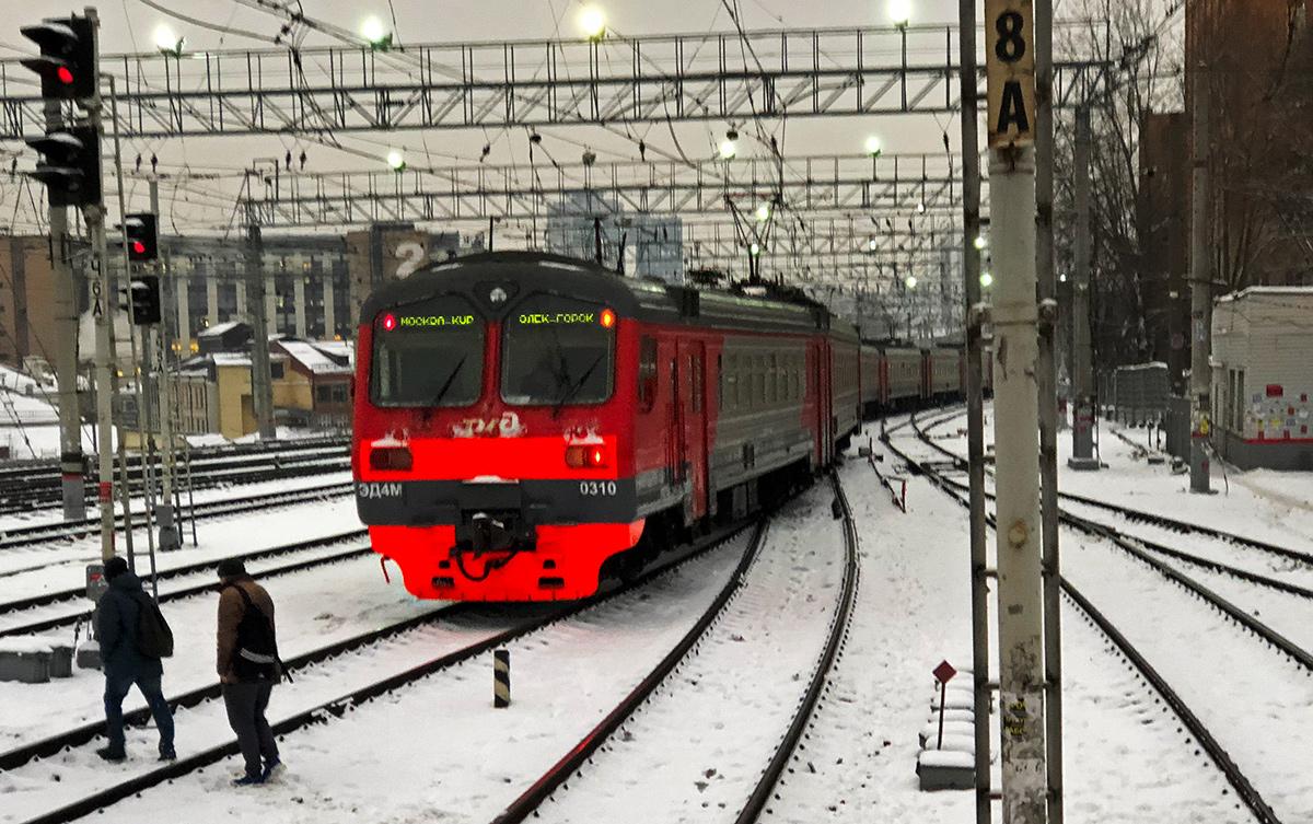 Москва. ЭД4М-0310