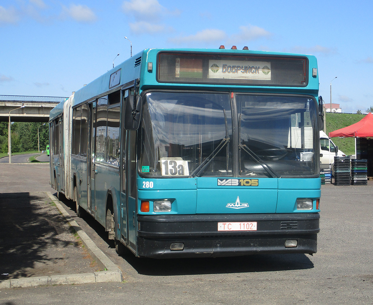 Бобруйск. МАЗ-105.060 TC1102