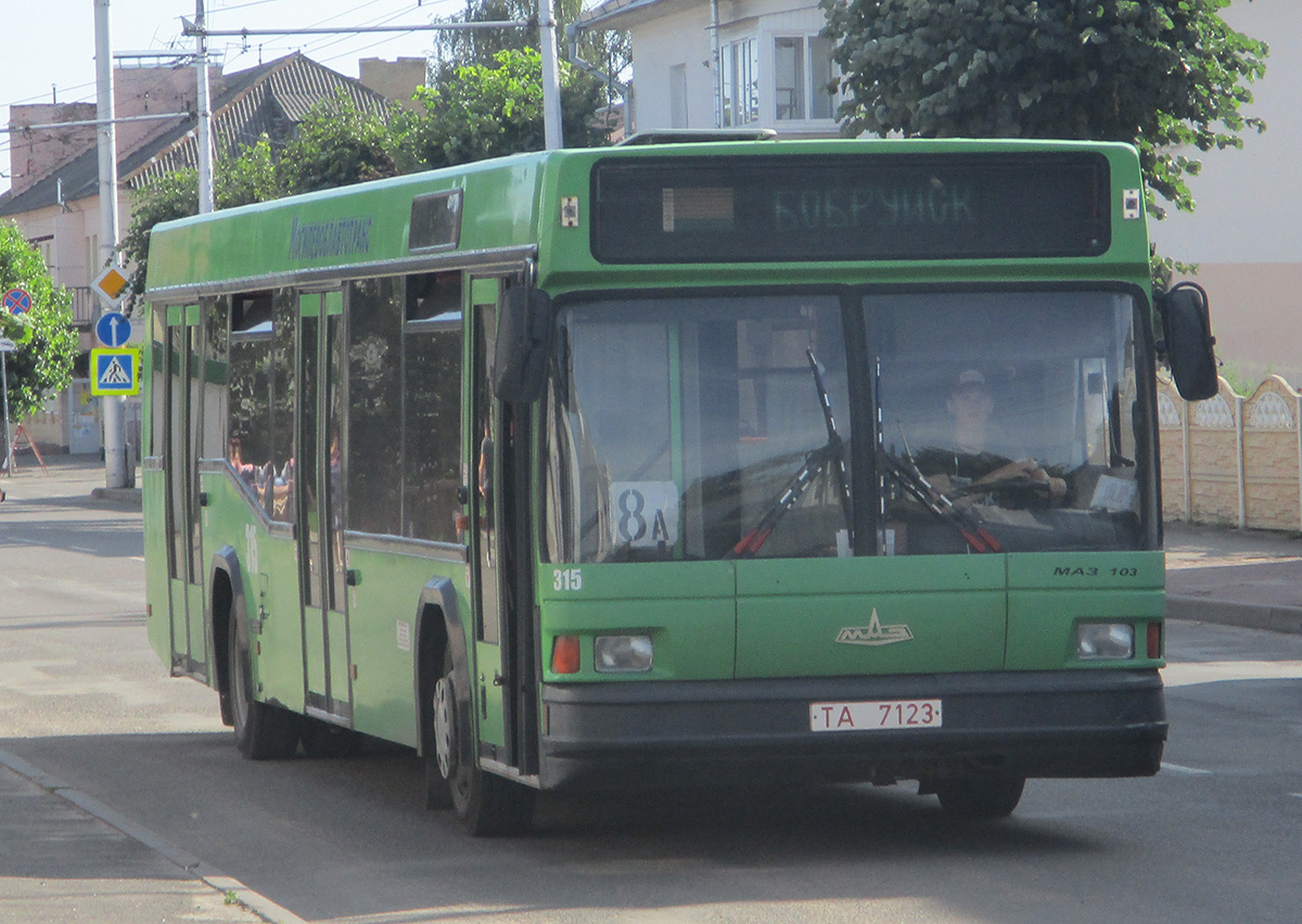 Бобруйск. МАЗ-103.065 TA7123