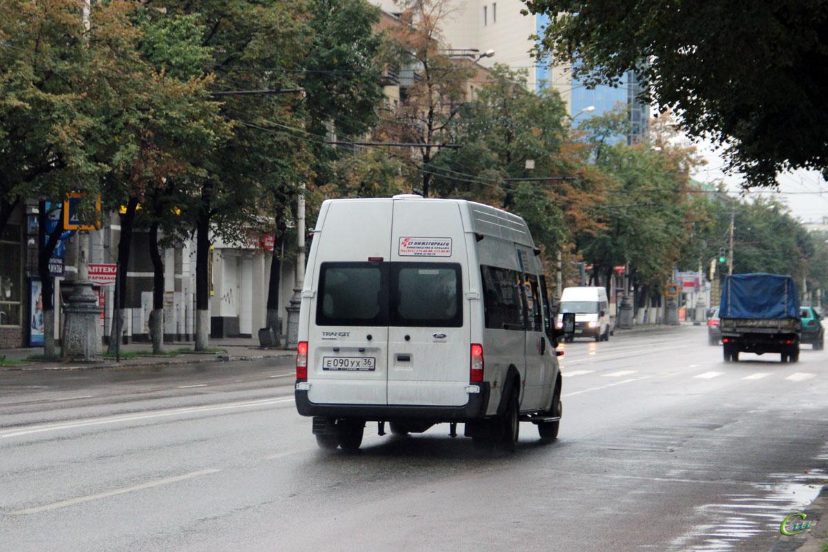 Воронеж. Нижегородец-2227 (Ford Transit) е090ух