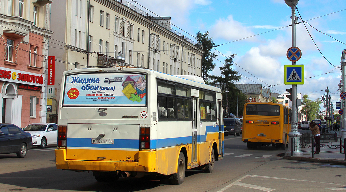 Иркутск. Daewoo BM090 о735ур, Asia AM818 Cosmos р109хе