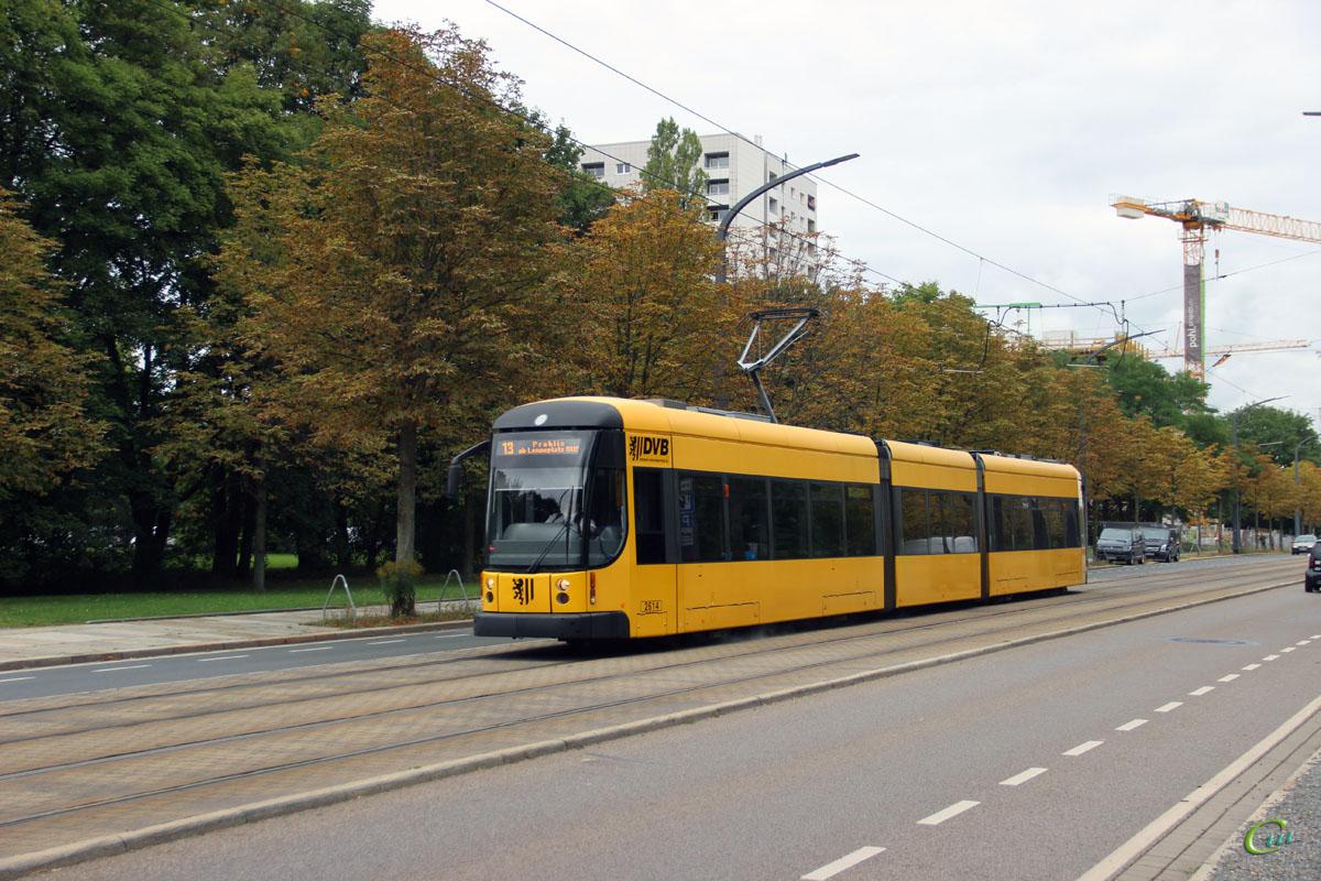 Дрезден. Bombardier NGTD8DD №2614