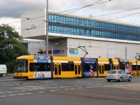 Дрезден. SachsenTram NGT6DD №2590