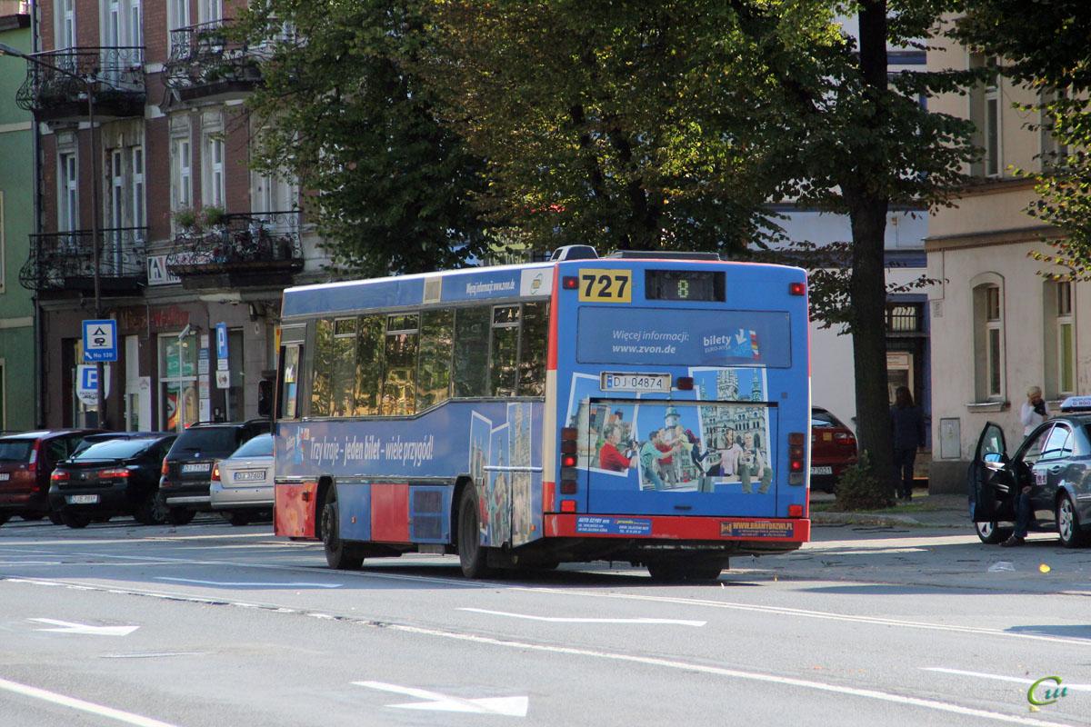 Еленя-Гура. Carrus City (Volvo B10BLE) DJ 04874