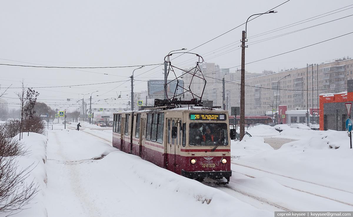 Санкт-Петербург. ЛВС-86К №3032
