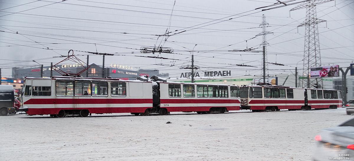 Санкт-Петербург. ЛВС-86К №5056, ЛВС-86К №5010