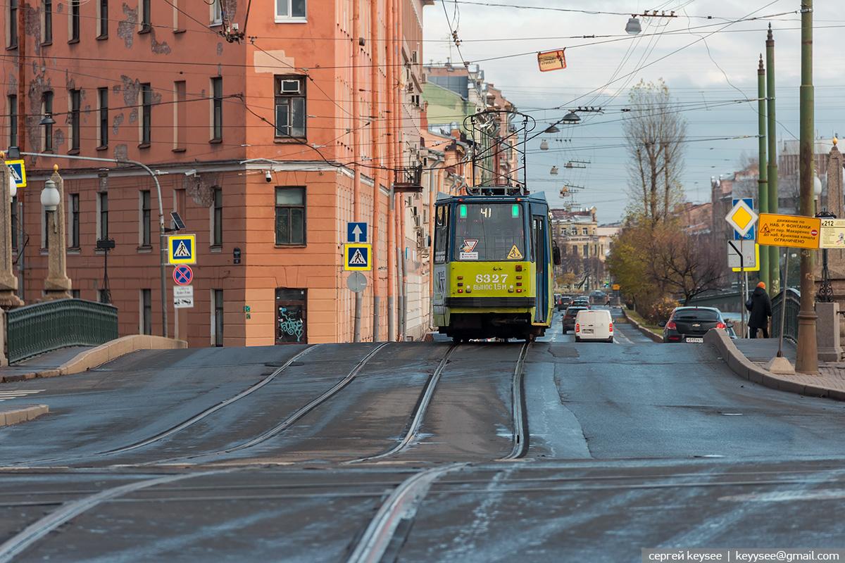 Санкт-Петербург. 71-134К (ЛМ-99К) №8327