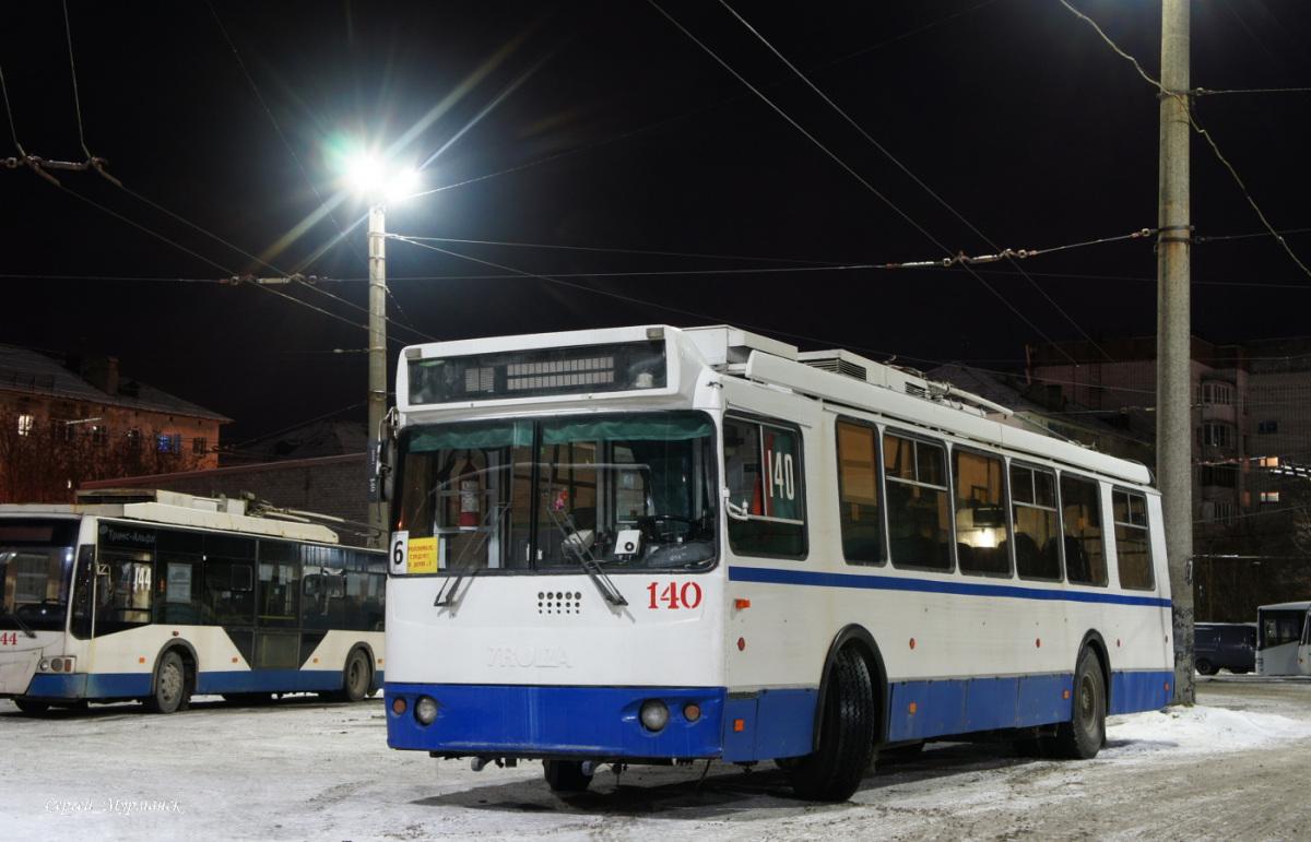 Мурманск. ЗиУ-682Г-016.07 (ЗиУ-682Г0М) №140