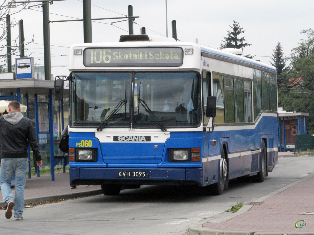 Краков. Scania MaxCi CN113CLL KVH 3095