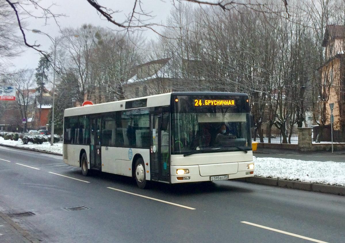 Калининград. MAN A21 NL263 с595во