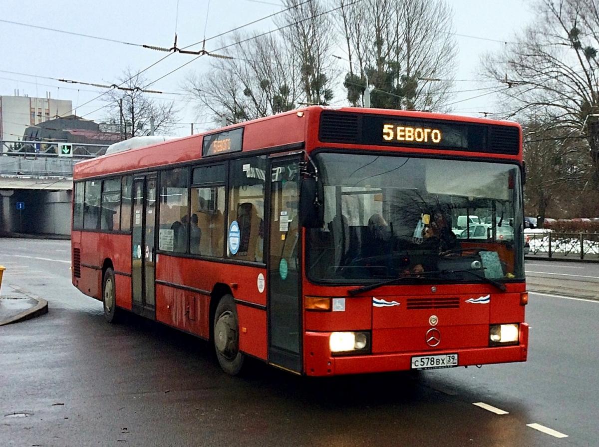 Калининград. Mercedes-Benz O405NÜ с578вх