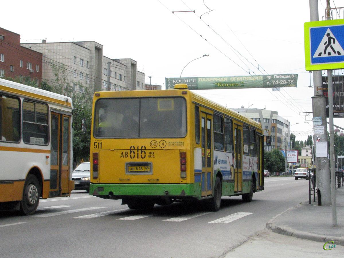 Липецк. ЛиАЗ-5256.45 ав616