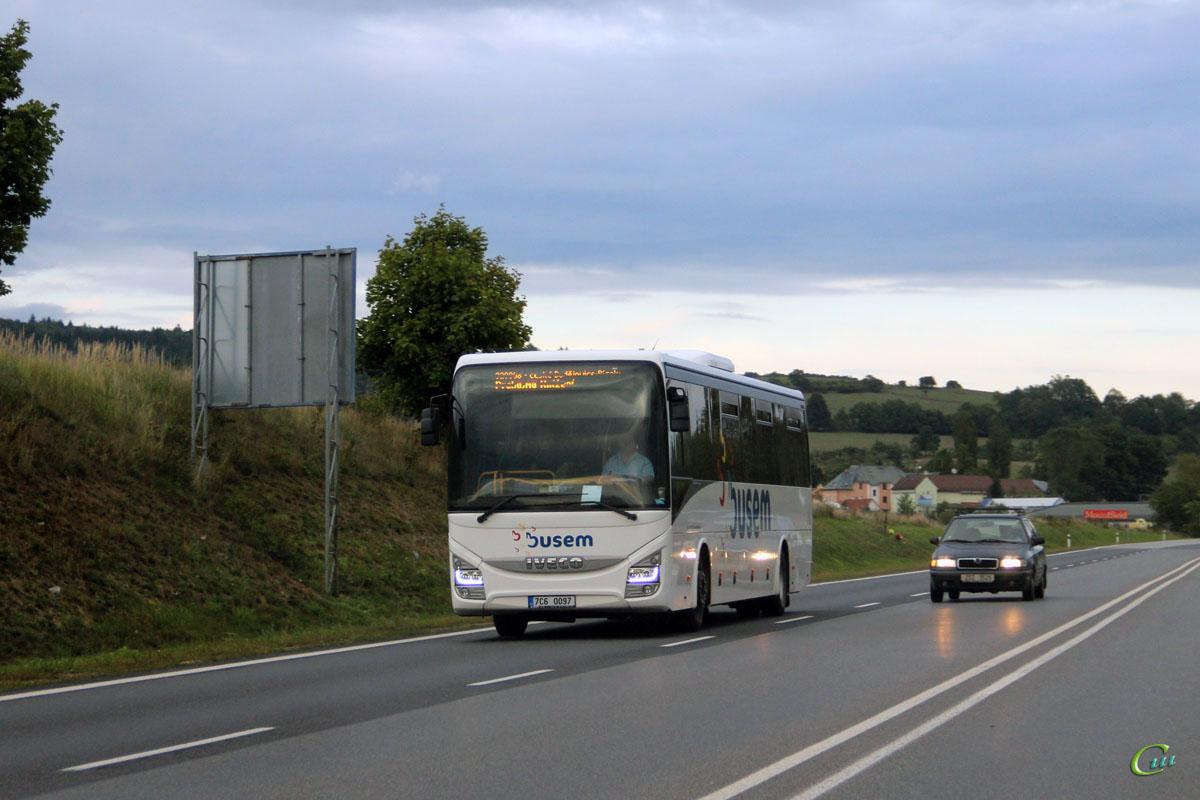 Писек. IVECO Crossway Line 13M 7C6 0097