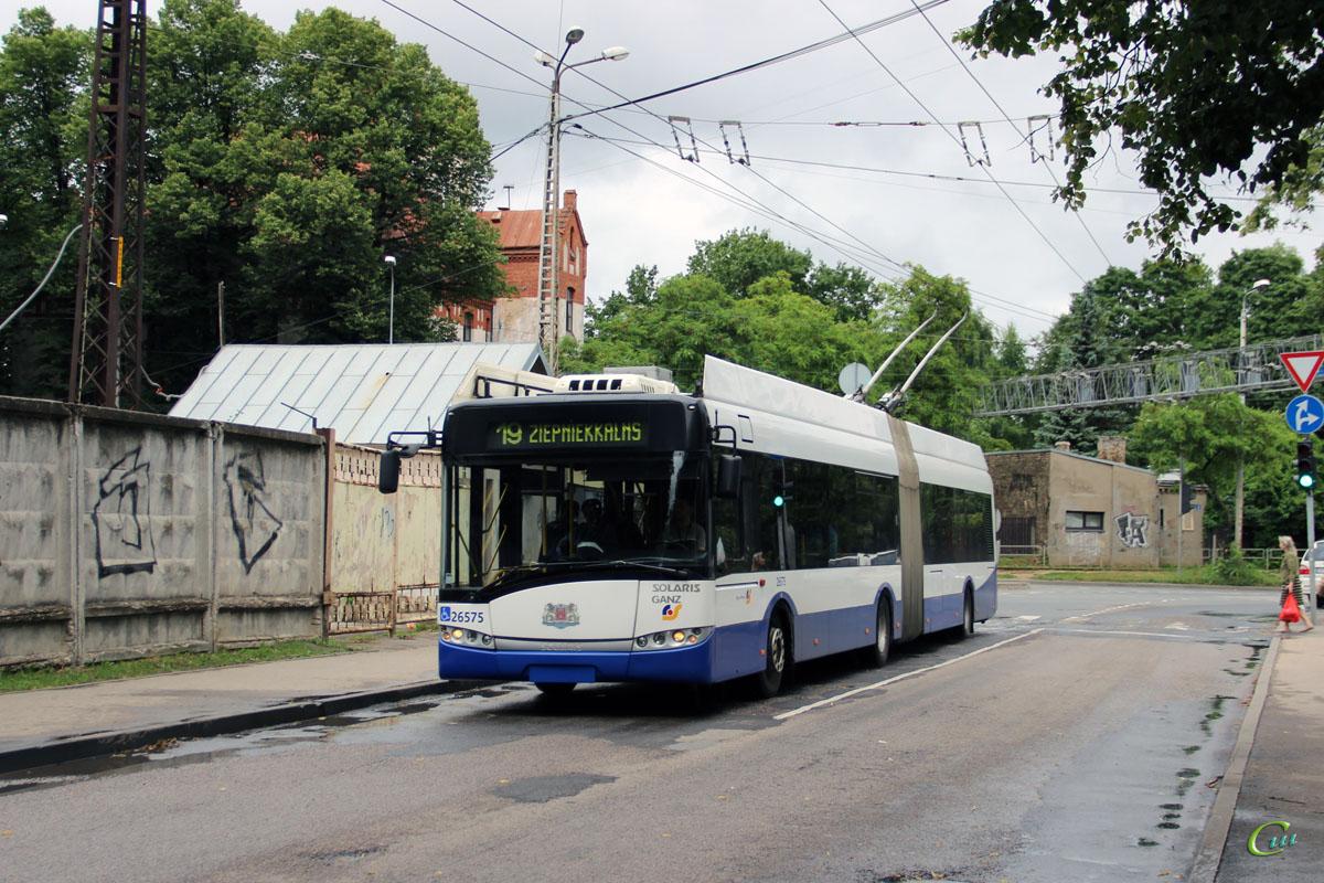 Рига. Solaris Trollino 18 №26575