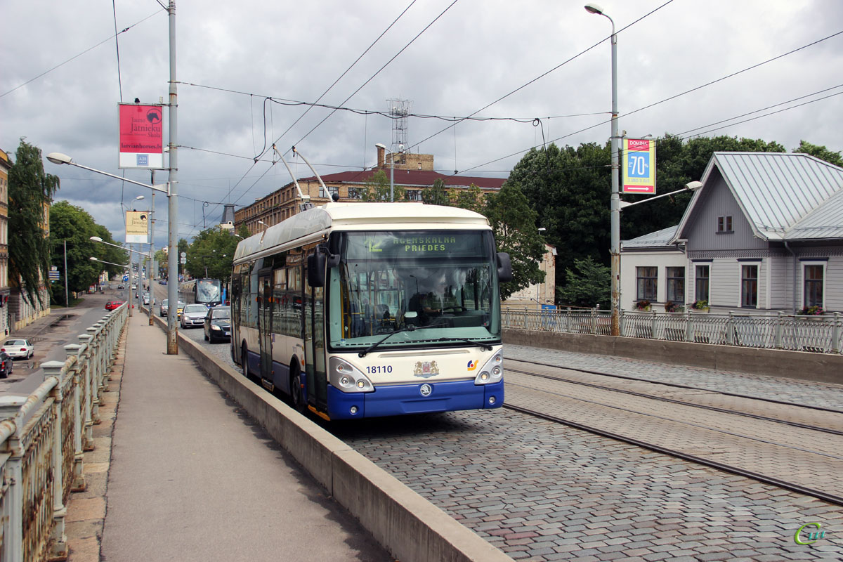 Рига. Škoda 24Tr Irisbus Citelis №18110