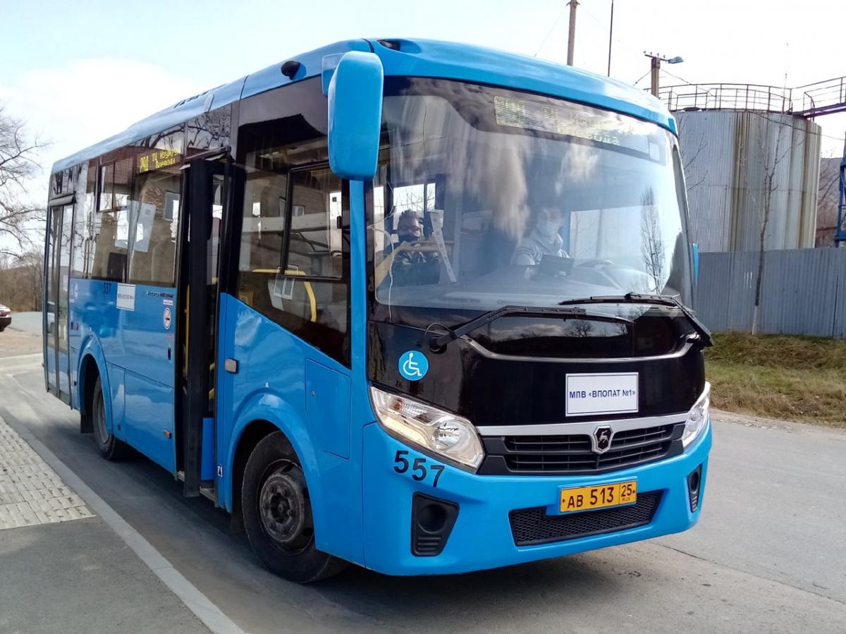 Владивосток. ПАЗ-320435-04 Vector Next ав513