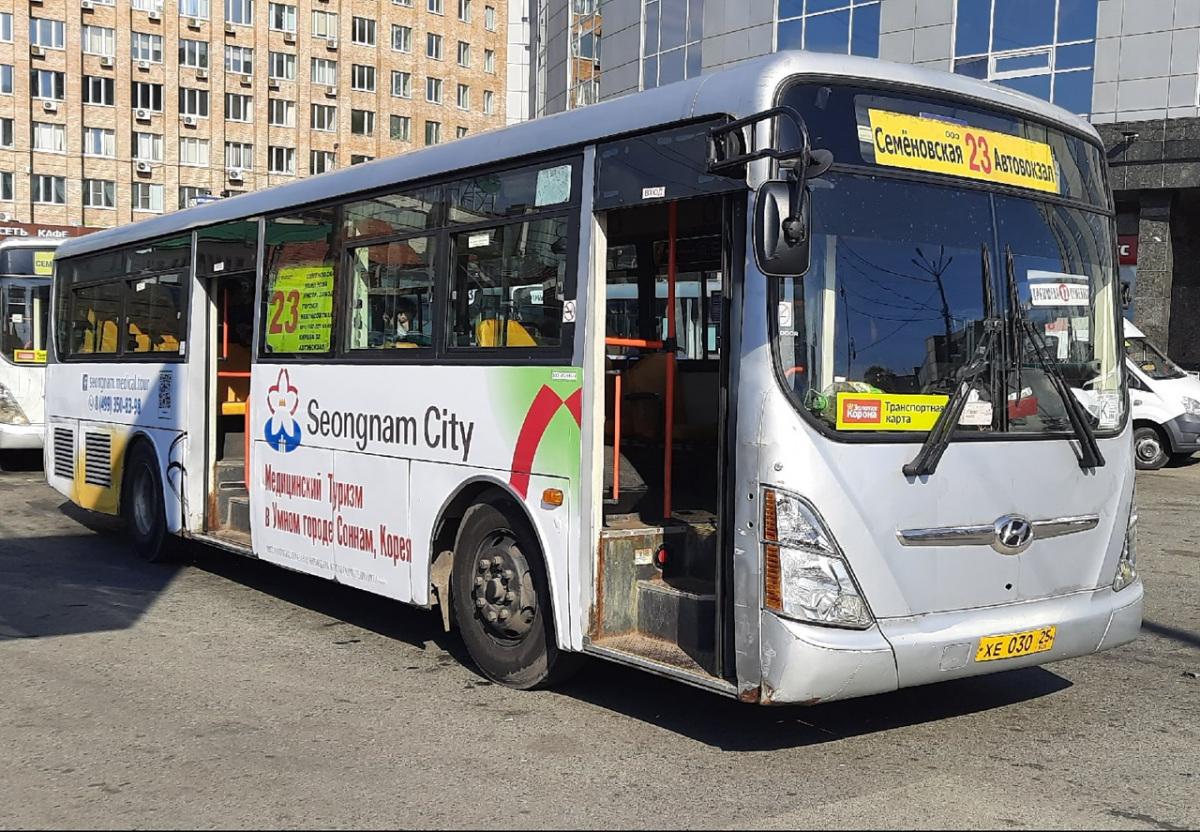 Владивосток. Hyundai Super AeroCity хе030