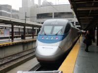 Бостон. Acela Express № 2036