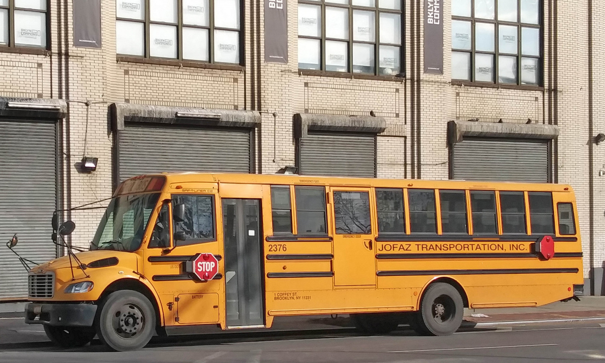 Нью-Йорк. Thomas Saf-T-Liner C2 №2376